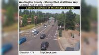 Beaverton: Washington County - Murray Blvd at Millikan Way - El día