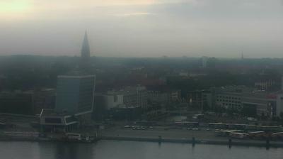 Kiel: Livespotting - Hafenpanorama