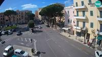 Gaeta: Livecam - Piazza della Libert� - Corso Cavour - Overdag