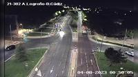 Ciudad Pegaso: AV LOGRO�O - BAHIA DE CADIZ - Current