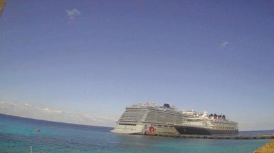 Vue webcam de jour à partir de San Miguel de Cozumel