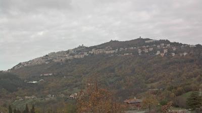 Tageslicht webcam ansicht von City of San Marino