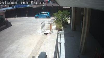 Daylight webcam view from Phuket › West: Welcome inn Karon Beach