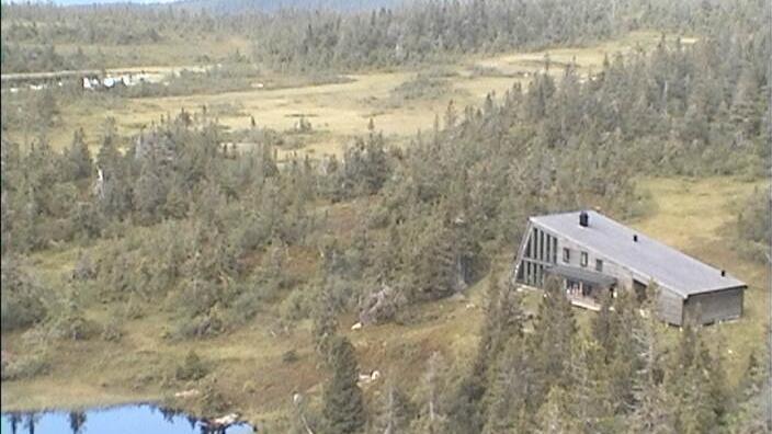 Webcam Raudsteinhytta, Østre Toten, Oppland, Norwegen