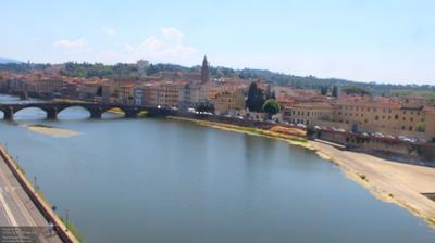 Daylight webcam view from Florence: Arno