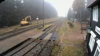 Schmiedefeld am Rennsteig: Rennsteig Bahn - Train Station - Dagtid