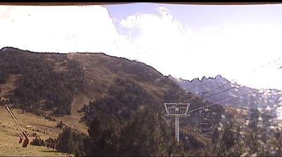Webcam Ax-les-Thermes: Saquet − panoramique