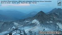 Schachnern: Sonnblick Observatorium - Blick nach Südwesten Richtung Lienzer Dolomiten