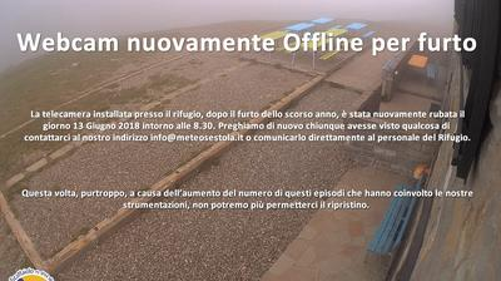 Webcam Pianaccio: Lago Scaffaiolo (Rifugio Duca degli Abr