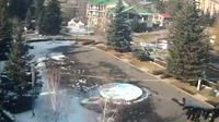 Tsakhkadzor: Tsakhkunyats square, Tsakhadzor city - Online Camera - El día