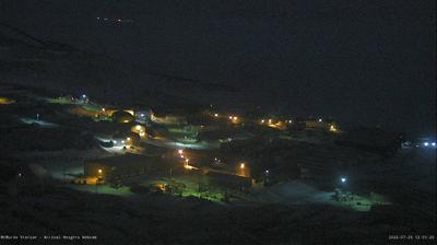 Daylight webcam view from McMurdo Station: South Pole − Station