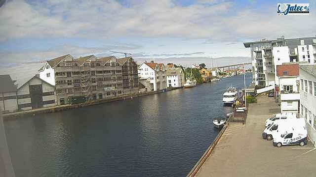 Webkamera Haugesund › North-West: Jatec AS − Risøy bru − Sme
