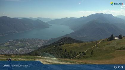Brione sopra Minusio: Minusio, Locarno - Cimetta Bergstation