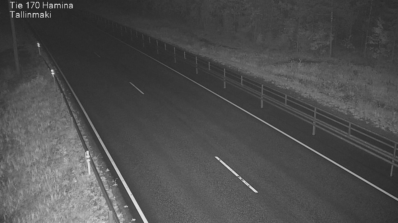 Webkamera Hamina: Tie 170 − Tallinmäki − Vaalimaalle