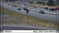 Liberty Lake > East: I- at MP - El día