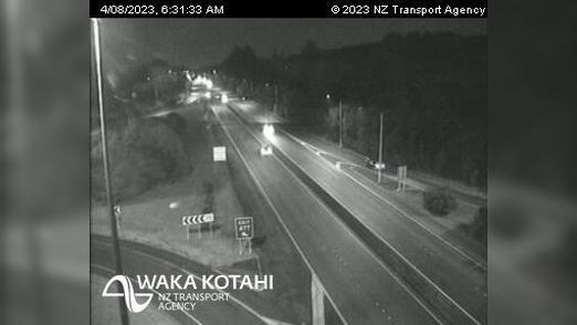 Webkamera Pokeno › North: SH1/SH2 Interchange, Auckland
