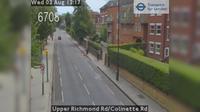 London: Upper Richmond Rd/Colinette Rd - Overdag