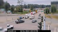 Surrey > South: Hwy  (South Fraser Perimeter Rd) at Bridgeview Dr, looking south - Jour