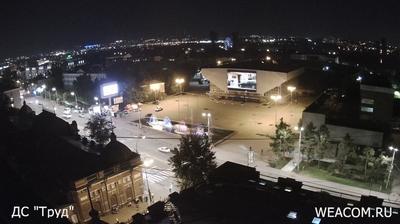 Иркутск - Иркутская область, Россия: ул.Дзержинского, . Вид на стадион