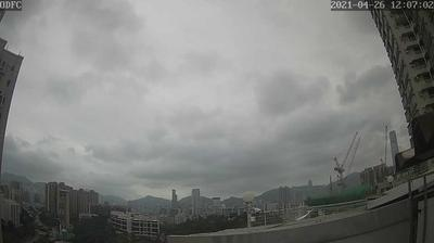 Daylight webcam view from Kowloon › South: Hong Kong Mongkok