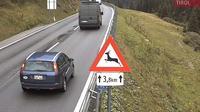 Sankt Anton am Arlberg: Sankt Christoph am Arlberg - �sterreich: B  Arlbergstra�e, St.Christoph Schmittentunnel S�d Blickrichtung St.Anton - Day time