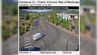 Oregon City: Clackamas Co - Prairie Schooner Way at Washington St - Current