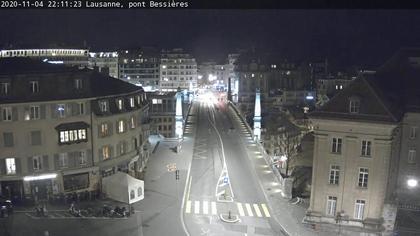 Lausanne: pont Bessières