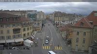Lausanne: pont Bessi�res - Overdag