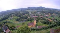 Bad Gleichenberg: Schloss Kapfenstein, Blick auf Kapfenstein - Dia