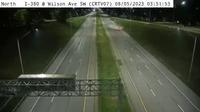 Cedar Rapids: CR - I- @ Wilson Ave SW - WWD() - Current