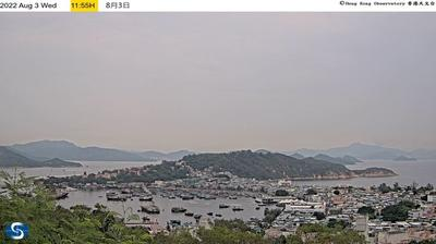 Daylight webcam view from Cheung Chau: Island − Insel