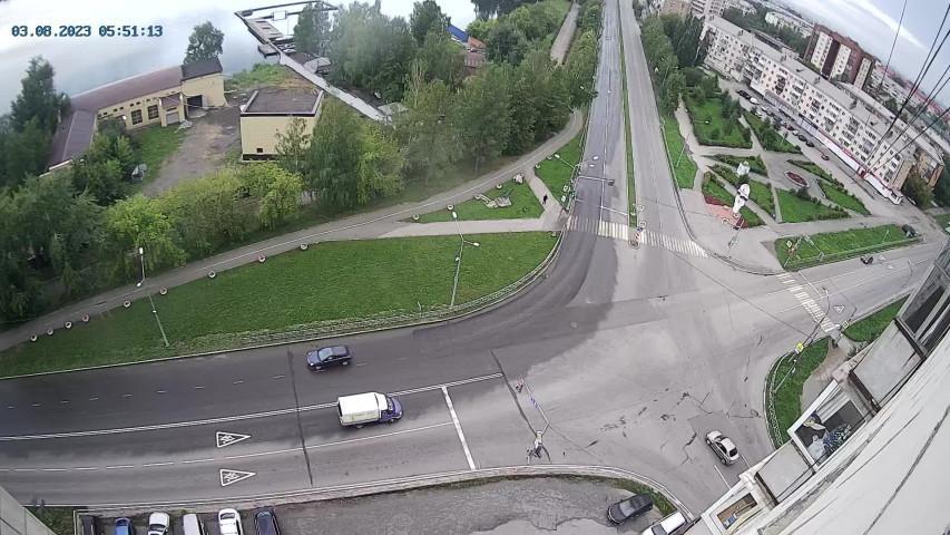 Webcam Topolëvka: Нижний Тагил, развязка ул. Красногварде