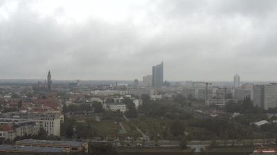 Leipzig: Blick von der MDR Zentrale