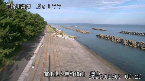 Webkamera Nishi-kurobe: Toyama − Kurobe − Yokoyama
