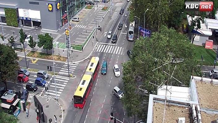 Webcam Dorćol: Belgrade Live − Bulevar Despota Stefana