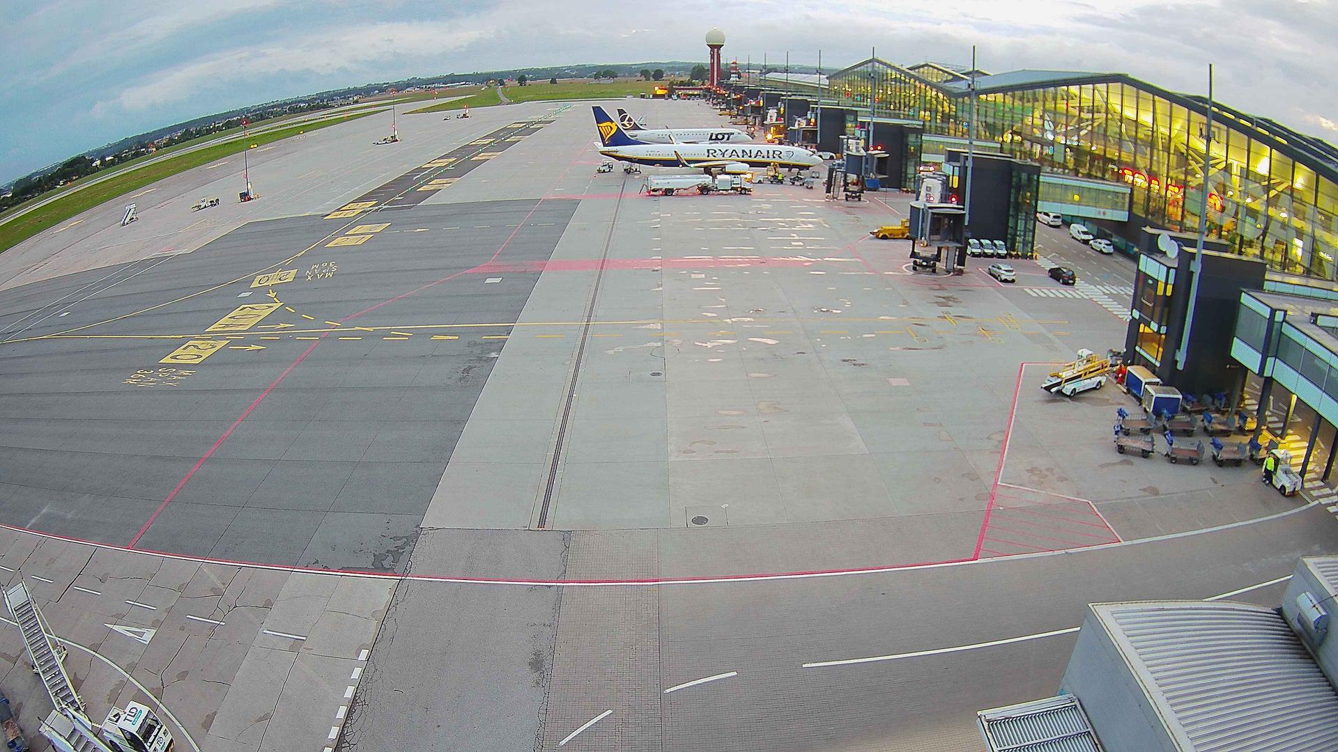 Webcam Gdańsk: Airport