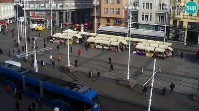 Zagreb: Ban Jelačić Square