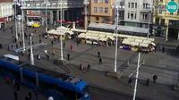 Zagreb: Ban Jelačić Square - Aktuell