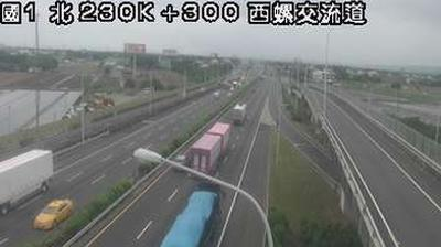 Vue webcam de jour à partir de 頂埤頭: 影像約略地點:西螺鎮大新里中山高速公路