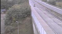 Schrick > South: A/E Nord - Weinviertel Autobahn, bei ASt. Schrck. [km ,], Blickrichtung: S-Knoten Eibesbrunn - El día