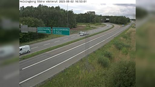 Webkamera Välluv: Helsingborg Södra västerut