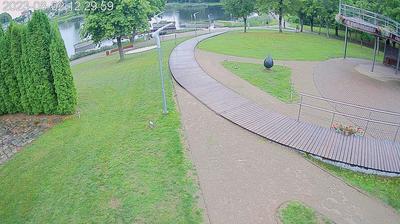 Vue webcam de jour à partir de Molėtai › South: Moletai Sculpture Park