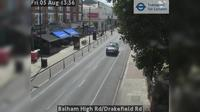 London: Balham High Rd/Drakefield Rd - Actual