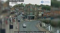 London: A Waldram Pk Rd/Westbourne Dr - Day time