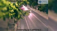 London: Kennington Pk Rd/Braganza St - Aktuell