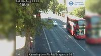 London: Kennington Pk Rd/Braganza St - Dagtid