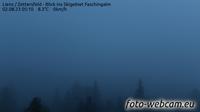 Vista actual o última Nussdorfer Berg: Lienz Zettersfeld Blick ins Skigebiet Faschingalm