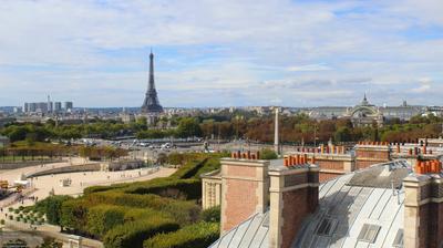 Vista de cámara web de luz diurna desde Paris: The Westin