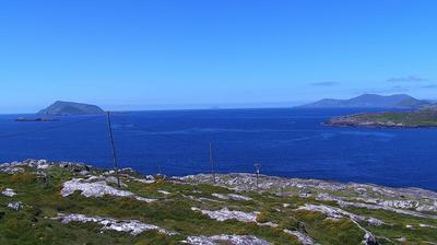 Daylight webcam view from Caherdaniel: Derrynane