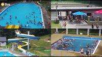 Rusava: Swimming pool - Day time